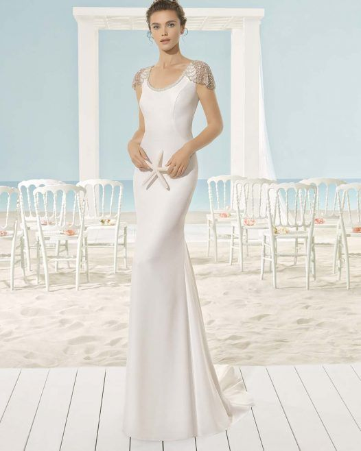 Aire Barcelona Xiana vestido novia wedding dress