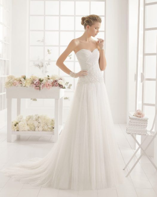 Aire Barcelona vestido novia wedding dress