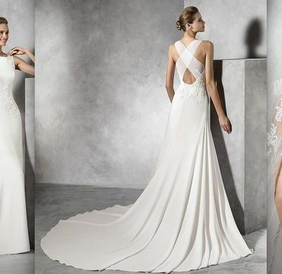 Pronovias Tori Vestido Novia Wedding Dress