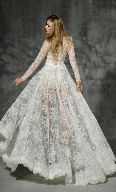 Yolan Cris Modelo Villaroel Vestido Novia Wedding Dress Boho Folk Dress Chic 2