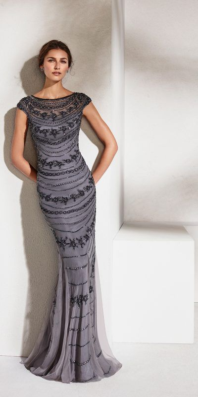 MARFIL 2J2E4 Vestido Fiesta Invitada Evening Dress