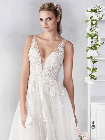 Kenneth Winston The Ella Rosa Collection BE456 Wedding Dress 2019 Vestido De Novia ABE456 Wedding Dress 2019 Vestido De Novia
