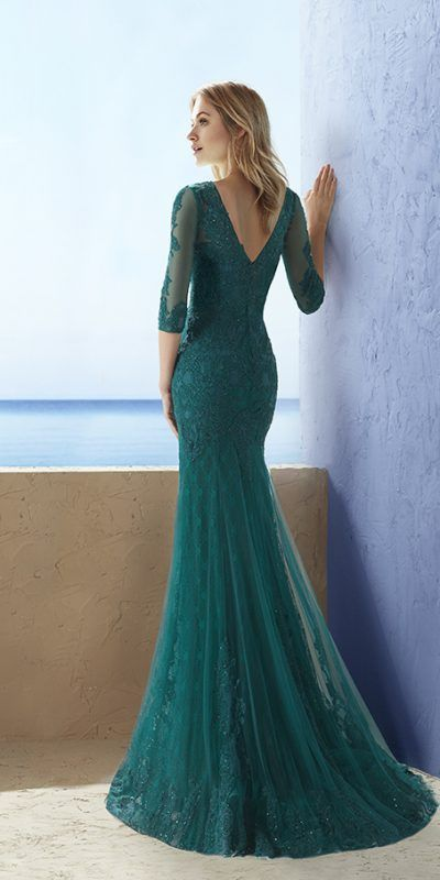 3J1G9_2 Marfil Vestido Invitada Fiesta Evening Dress