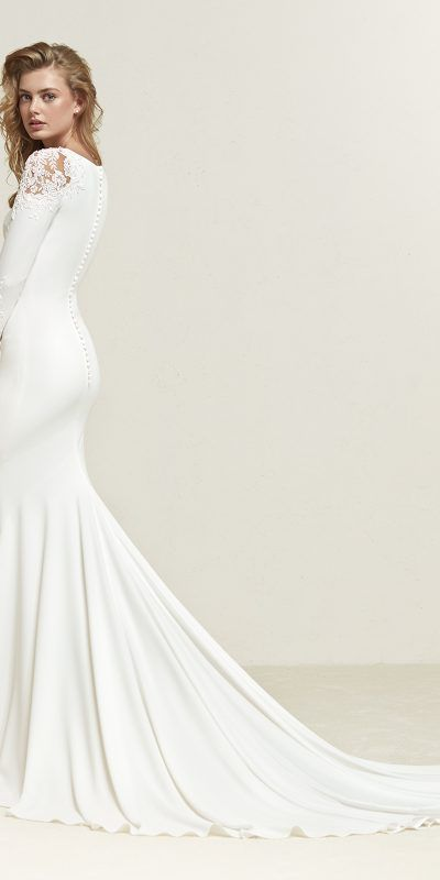 Pronovias Dreide Vestido De Novia Wedding Dress (2)
