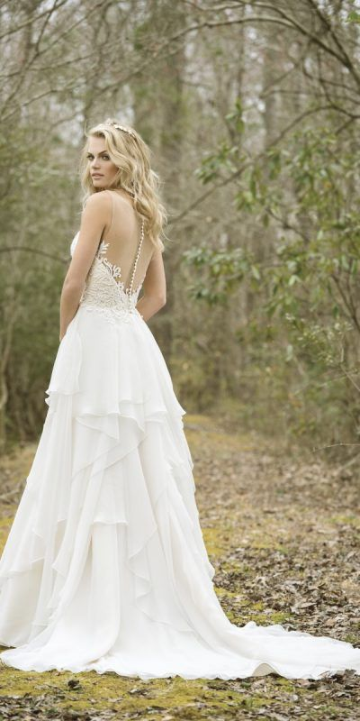 Justin Alexander Lillian West 6449 Vestido Novia Wedding Dress Wedding Gown Barcelona B