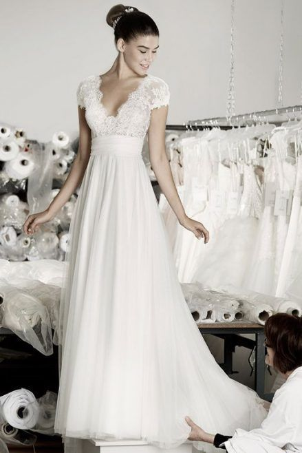 Cymbeline Modelo Angel vestido novia wedding dress