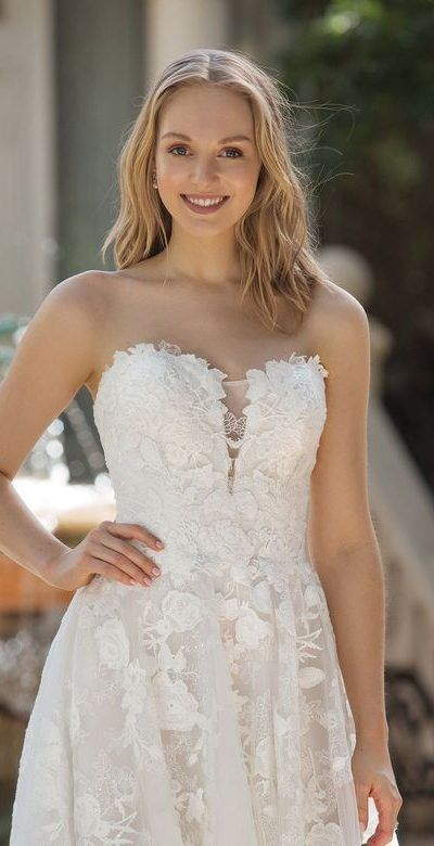 Justin Alexander Sincerity Style Modelo 44073 Vestido De Novia Wedding Dress