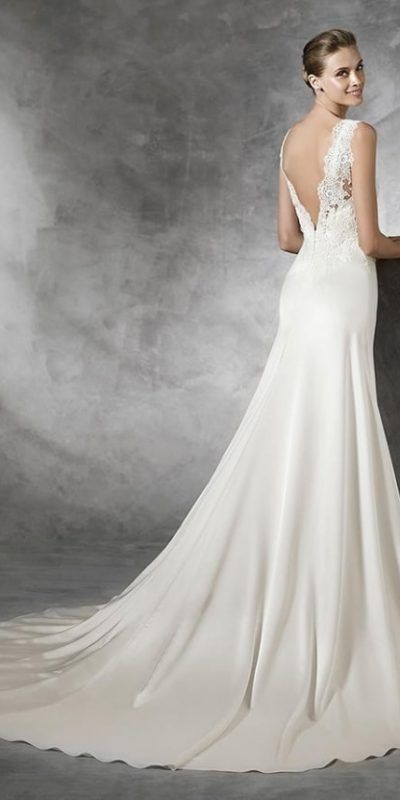 Pronovias Modelo Tasmine Vedding Dress Gown Vestido Novia