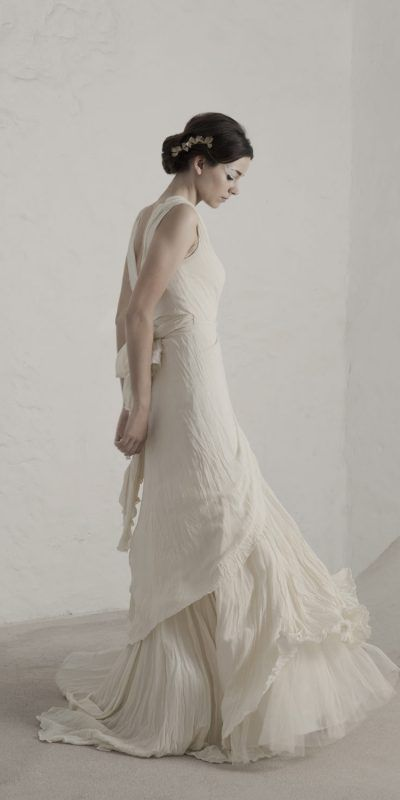 Cortana Cristina Seda Vestido Novia Wedding Dress