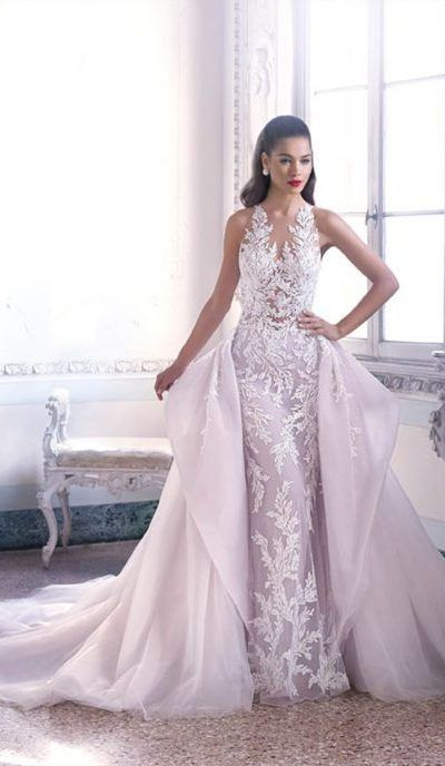 Demetrias DP400-3 Platinum Vestido De Novia Wedding Dress Alta Costura 3