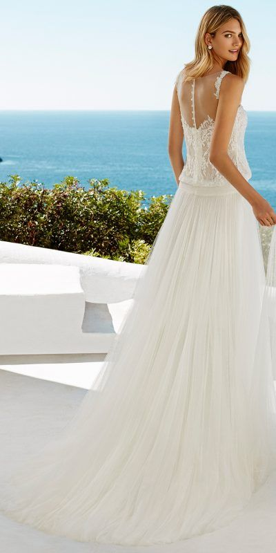Wedding Dress Vestido De Novia Aire Barcelona Beach Gilmore 2